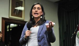 Congresistas cuestionan a Verónika Mendoza por marcha anticorrupción