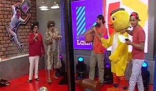 """Carlos Álvarez y su divertido sketch en """"La Noche es Mía"""""""