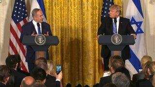 EEUU: Trump pide a Netanyahu frenar asentamientos