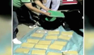 Intervienen vehículo con droga que salió del Círculo Militar