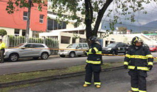Ecuador: periodista recibe sobre con supuesto explosivo