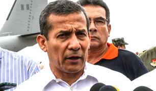 Ollanta Humala culpa a Alan García de permitir interceptaciones telefónicas