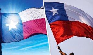 EEUU: buscan terminar con lío entre banderas de Chile y Texas