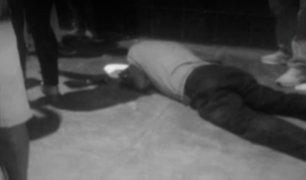 Sujeto disparó a fiscalizador en Los Olivos antes de iniciar balacera en Independencia