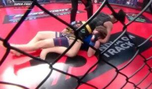 Entrenador salvó de la muerte a luchadora de MMA