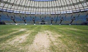 Estadio Maracaná se encuentra abandonado y en mal estado