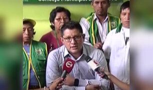 Alcalde de Los Olivos informa sobre caso de ambulante que desató masacre