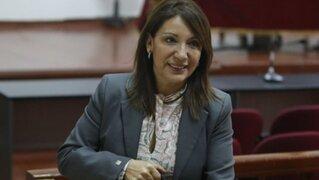 Julia Príncipe confiesa que sí tiene relación amical con abogado de Alan García