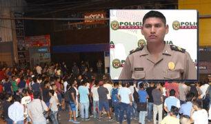 Independencia: policía que abatió a asesino recibe amenazas en redes sociales
