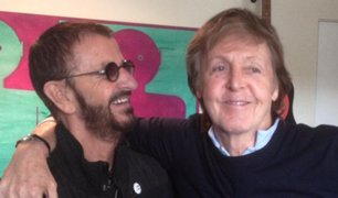 Paul McCartney y Ringo Starr graban juntos nuevamente