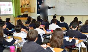FOTOS: amenazan de muerte a profesora para que apruebe a sus alumnos