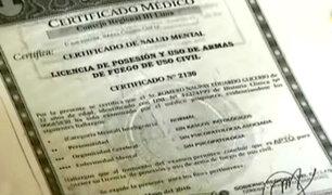 Certificado de Salud del asesino de Independencia era falso
