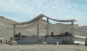 Chimbote: cementerio queda destruido por obras de agua y desagüe