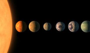 La NASA descubrió un nuevo sistema planetario que podría ser habitable