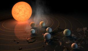 Tres planetas del nuevo sistema solar podrían tener océanos