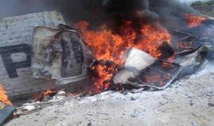 Trujillo: triple choque deja 12 muertos y 9 personas heridas