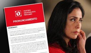 Partido Nacionalista se pronunció sobre caso Odebrecht
