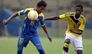 Colombia ganó 2-1 ante Ecuador en el Sudamericano Sub 17