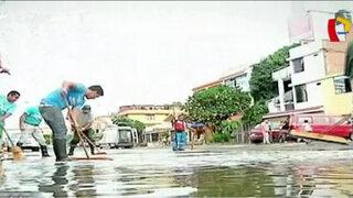 Senamhi anunció que fuertes lluvias podrían repetirse durante el fin de semana