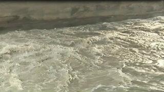 Río Rímac: incremento del caudal preocupa a la población