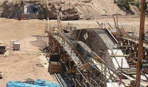 Chachapoyas: puente en construcción cae y deja cuatro obreros muertos