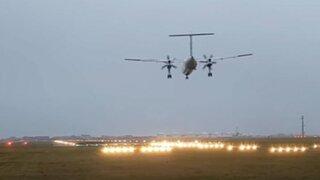 Impactante video de accidente aéreo en pleno aterrizaje  en Ámsterdam