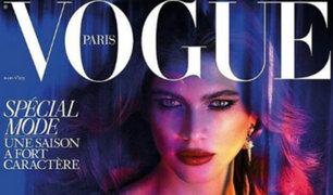 Primera modelo transgénero aparece en portada de Vogue