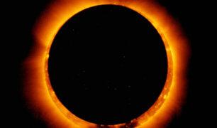 Así fue el impresionante anillo de fuego aparecido en los cielos de Sudamérica