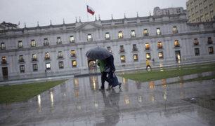 Santiago de Chile: fuertes lluvias afectan a 1,4 millones de habitantes
