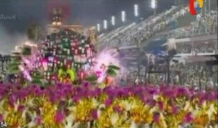 Carnaval de Río 2017 en su tercera jornada