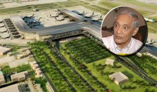 Economista González Izquierdo analiza suspensión de obras en aeropuerto de Chincheros