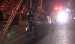 Hallan cadáver  de mujer cerca al puente Alipio Ponce