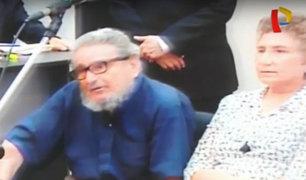 Cabecilla terrorista Abimael Guzmán reapareció en audiencia por atentado a calle Tarata