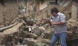 Chosica: vecinos están sin agua potable y con el sistema de desagüe colapsado