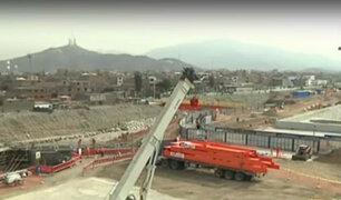 Obras de construcción de Puente Bella Unión están muy retrasadas