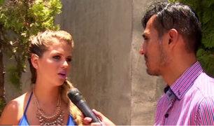 Brunella Horna habló con 'Richiboy' sobre su ruptura amorosa