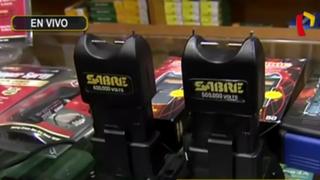 Inseguridad ciudadana: armas no letales adquiridas para defensa personal