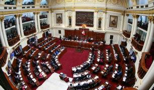 Congreso aprueba por unanimidad la imprescriptibilidad de delitos de corrupción