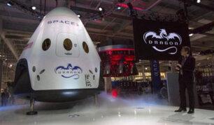 Estados Unidos: muestran nave que llevará turistas al espacio