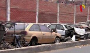 Comisarías siguen utilizando calles como depósitos vehiculares