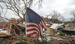 Numerosos tornados ocasionan graves daños en Estados Unidos