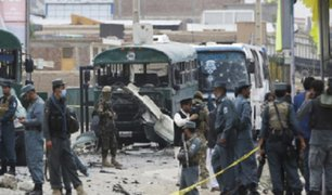 Afganistán: ataques suicidas dejan al menos 24 muertos en Kabul