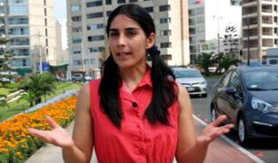 Pamela Acosta y las cinco situaciones en las que NO debes utilizar el claxon