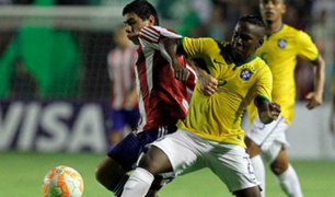 Brasil empató con Paraguay por 2-2 en la fecha 4 del Sudamericano