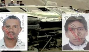 Panamericana Sur: Fiscalía pide 9 meses de prisión preventiva para choferes