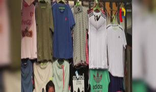 Gamarra: el paraíso de la ropa y zapatillas 'bamba'