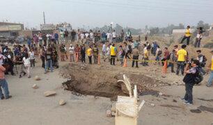 Chosica: pobladores en riesgo por colapso de puente Tumi