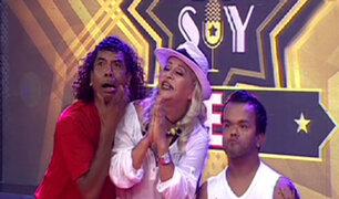 """Zelma Gálvez, Chatín y Cachay en el """"Yo Soy Feo"""" de la """"La Noche Es Mía"""""""