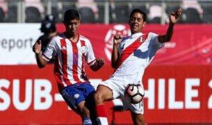 Perú cayó 2-0 ante Paraguay y se despidió del Sudamericano Sub 17