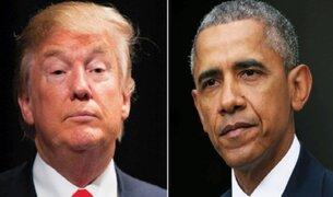 Donald Trump acusa a Obama de haber interceptado sus teléfonos durante la campaña